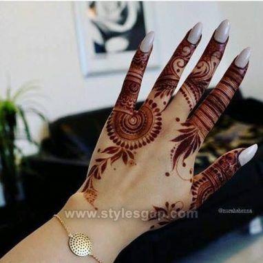 Mehndi Designs New Style Simple Easy For Fingers Valoblogi Com