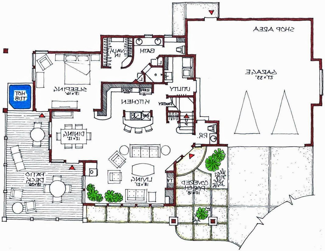 Unique Modern House Plans Modern House Floor Plans Contemporary ...