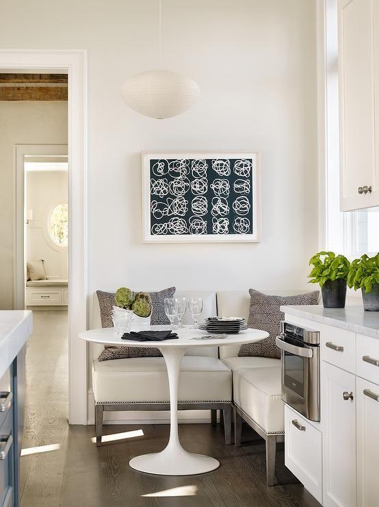Ideas para poner una mesa comedor en un espacio peque o for Mesas comedores pequenos