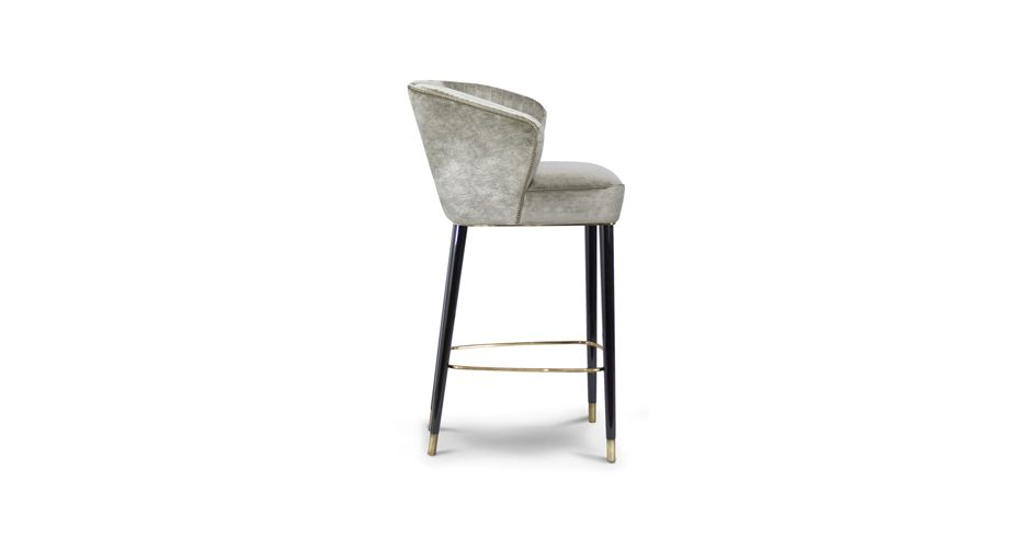 Samt Sessel Velvet Chair Luxus Wohnzimmer Luxury living room - esszimmer modern beige