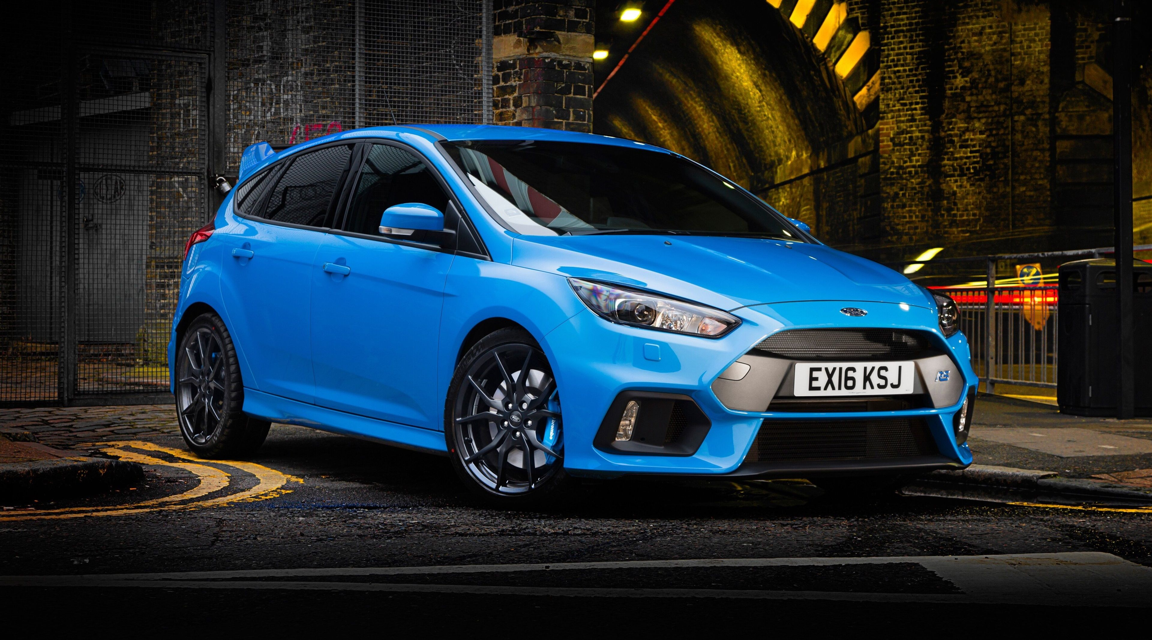 3840x2132 ford focus rs 4k high resolution widescreen wallpaper