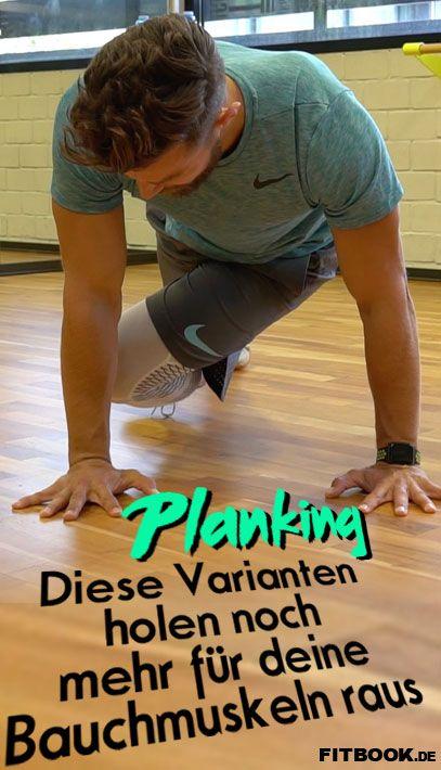 Mehr Bauchmuskeln mit diesen Planking-Varianten #corepilates
