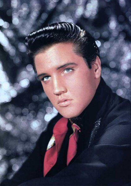 Elvis features in a promotional shot for King Creole (1958)