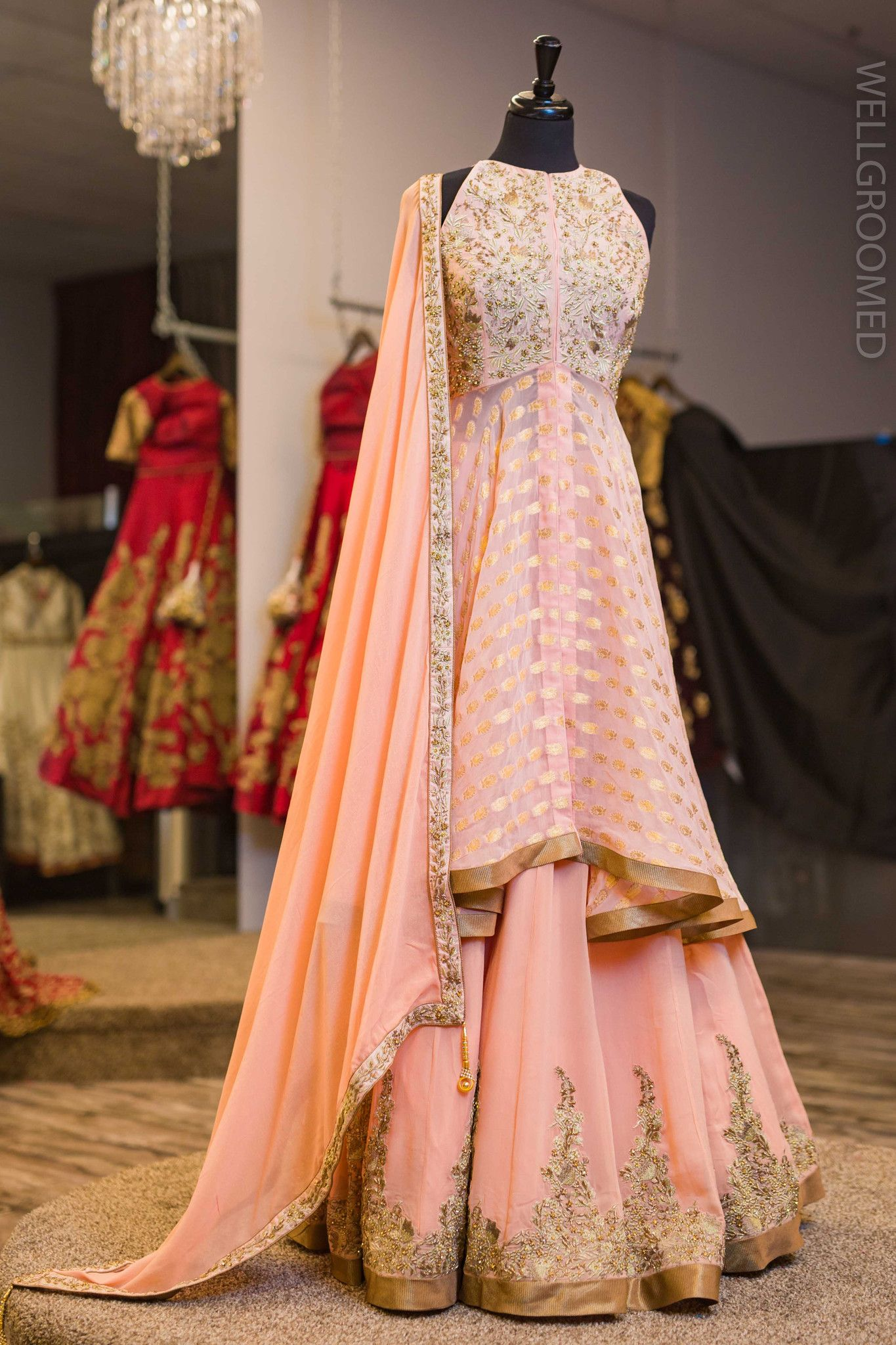 Pink Indian Dresses