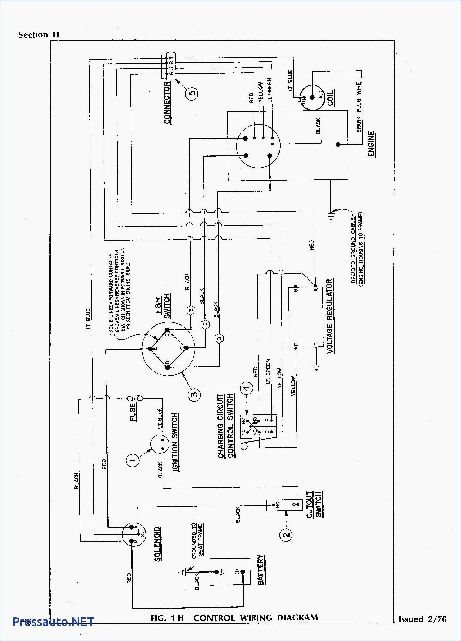Unique Wiring Diagram Club Car Golf Cart Con Imagenes