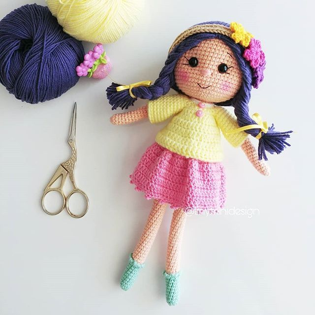 Amigurumi Tombiş Ayıcık Yapılışı-Amigurumi Bear Pattern - Tiny Mini Design #dollhats