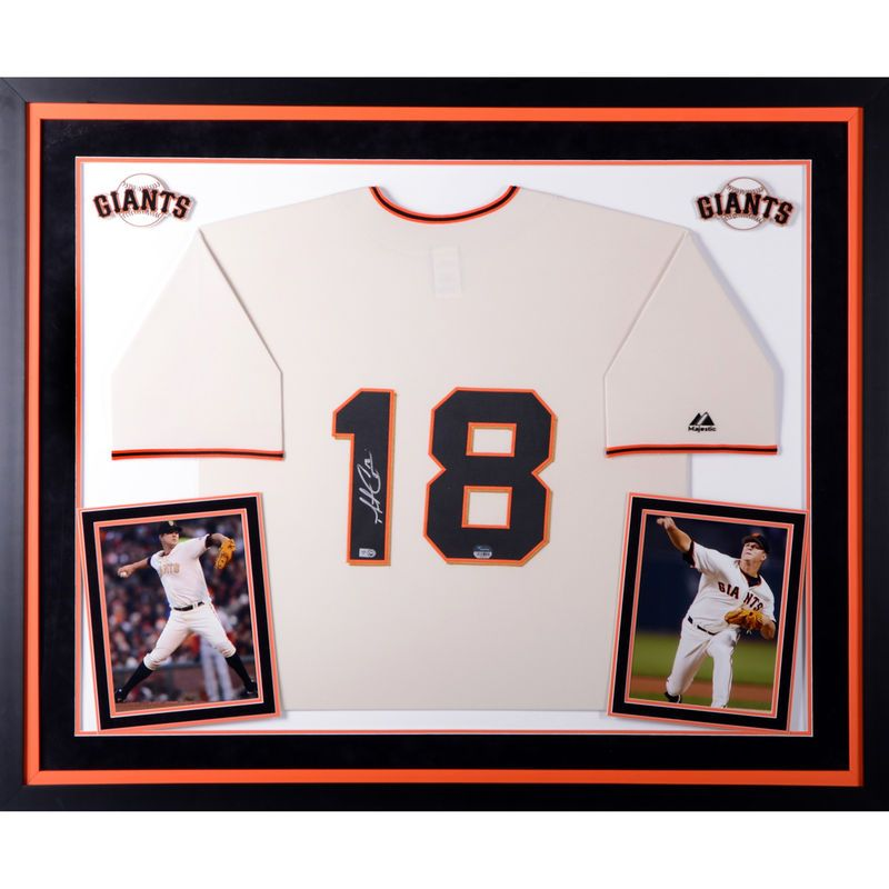 Matt Cain San Francisco Giants Fanatics Authentic Deluxe Framed