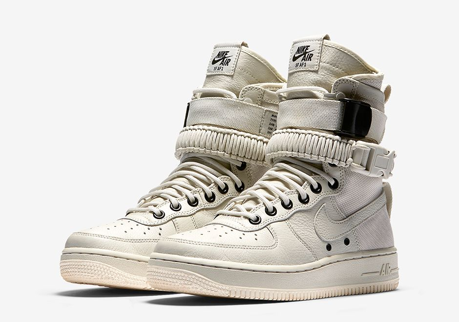 The Nike SF-AF1 will release in a new women\u0027s white colorway this coming  November