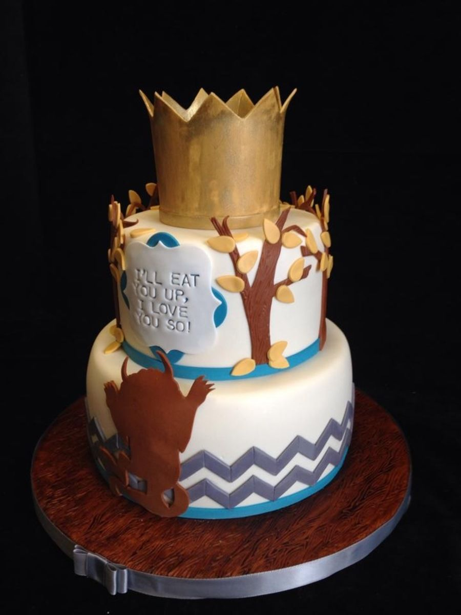 Where The Wild Things Are Baby Shower Cake With Images Baby