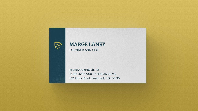AlertTech | Business cards