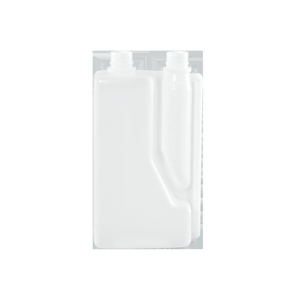 Illing Part 835bx1ln 1 Liter Natural Hdpe Plastic Bettix Twin Neck Bottle Plastic Bettix Bottles Are Available In An As Custom Bottles Hdpe Plastic Bottle