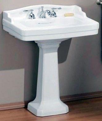 Affordable Antique Bath   Art Deco Pedestal Sink, $349.00  (http://www.bathandmore.com/art Deco Pedestal Sink/)