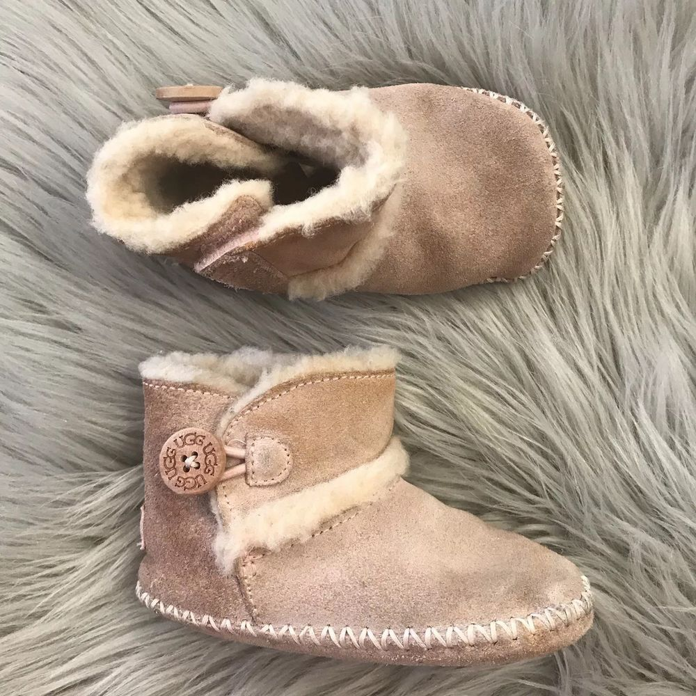 9852df22268 Ugg Infant Lemmy II baby pink boots size 4/5 # 1012146 (492 ...