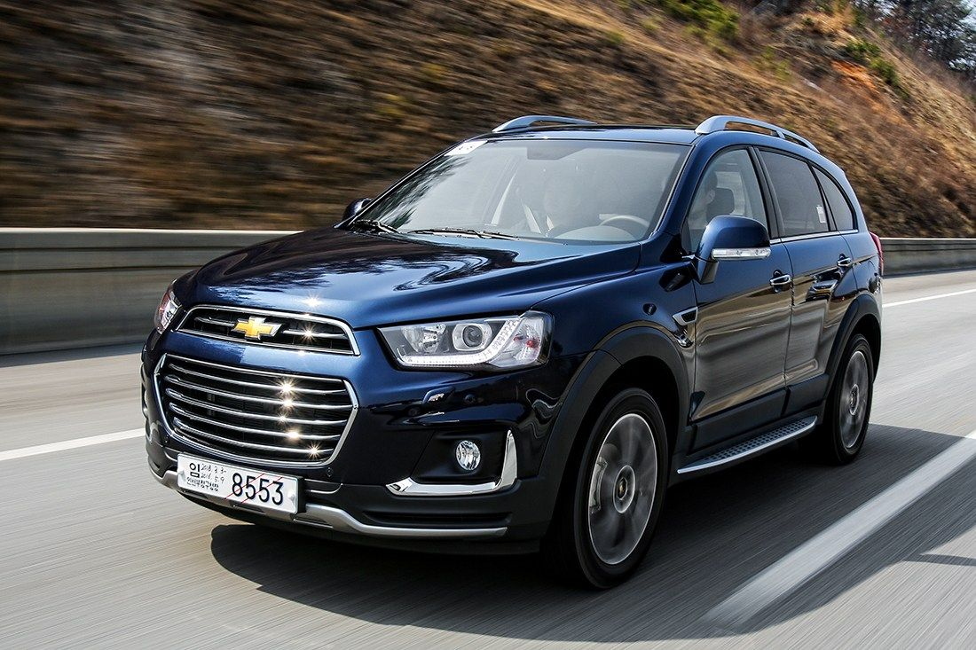 2018 Chevrolet Captiva New Platform