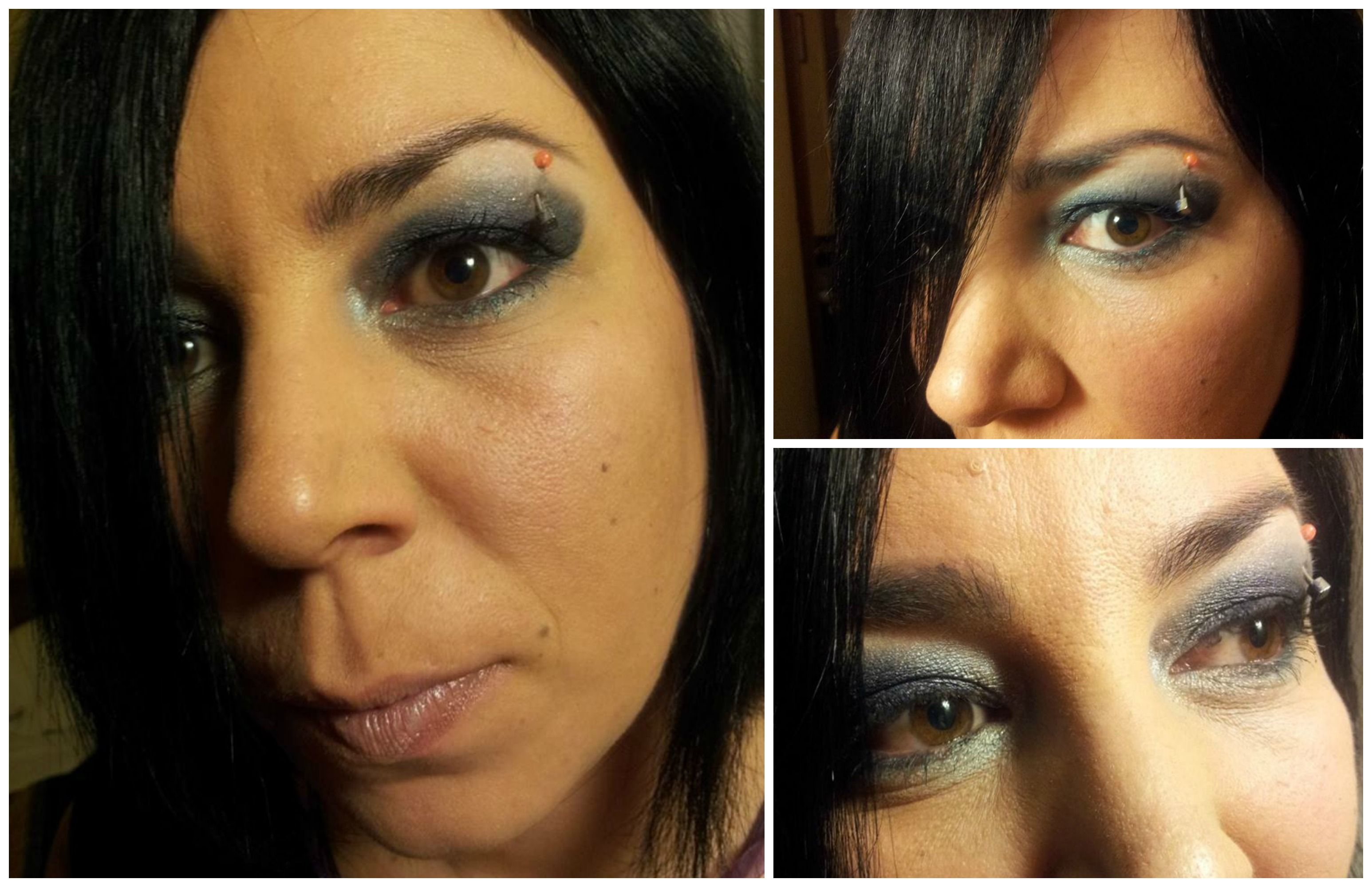 Keloid after nose piercing  Dark Gray Smokey  piercing makeup beautyisatrick  Beauty is a