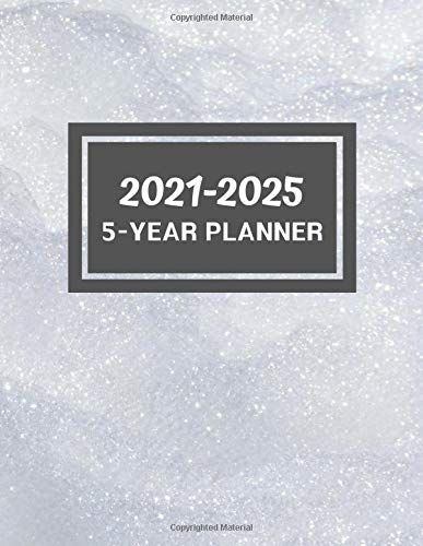 5 Year Planner 2021 2025 60 Monthly Calendar January 2021 December 2025 By Nada M Mohsen In 2020 Yearly Planner Planner 2021 Calendar