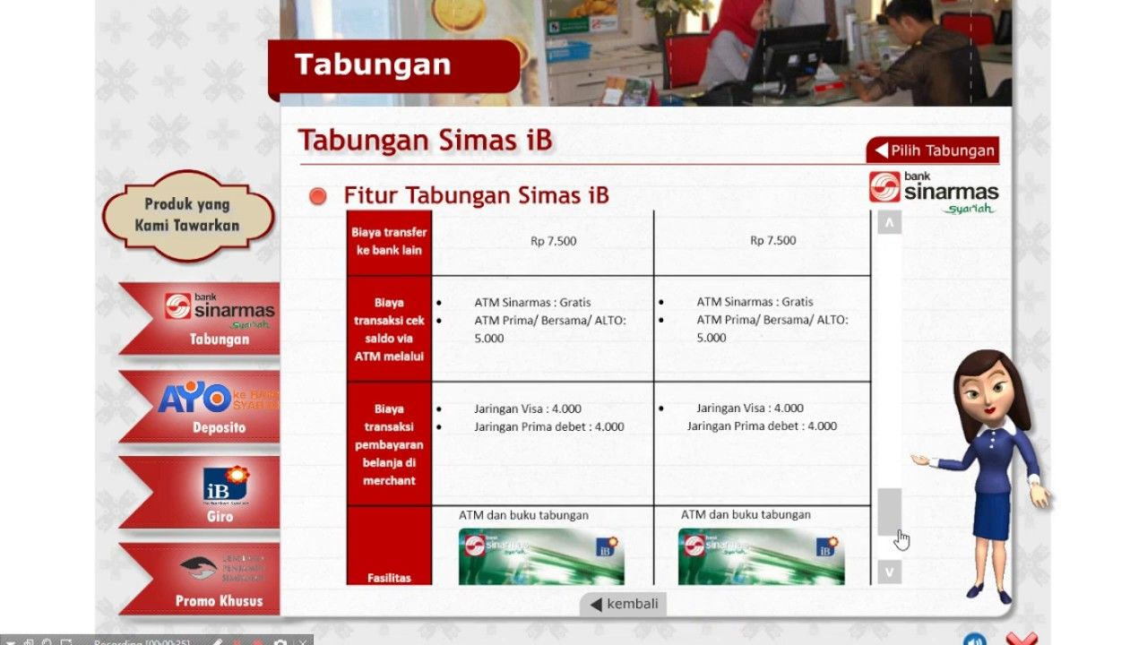 Company Profile Bank Dengan Adobe Flash Portfolios Pinterest