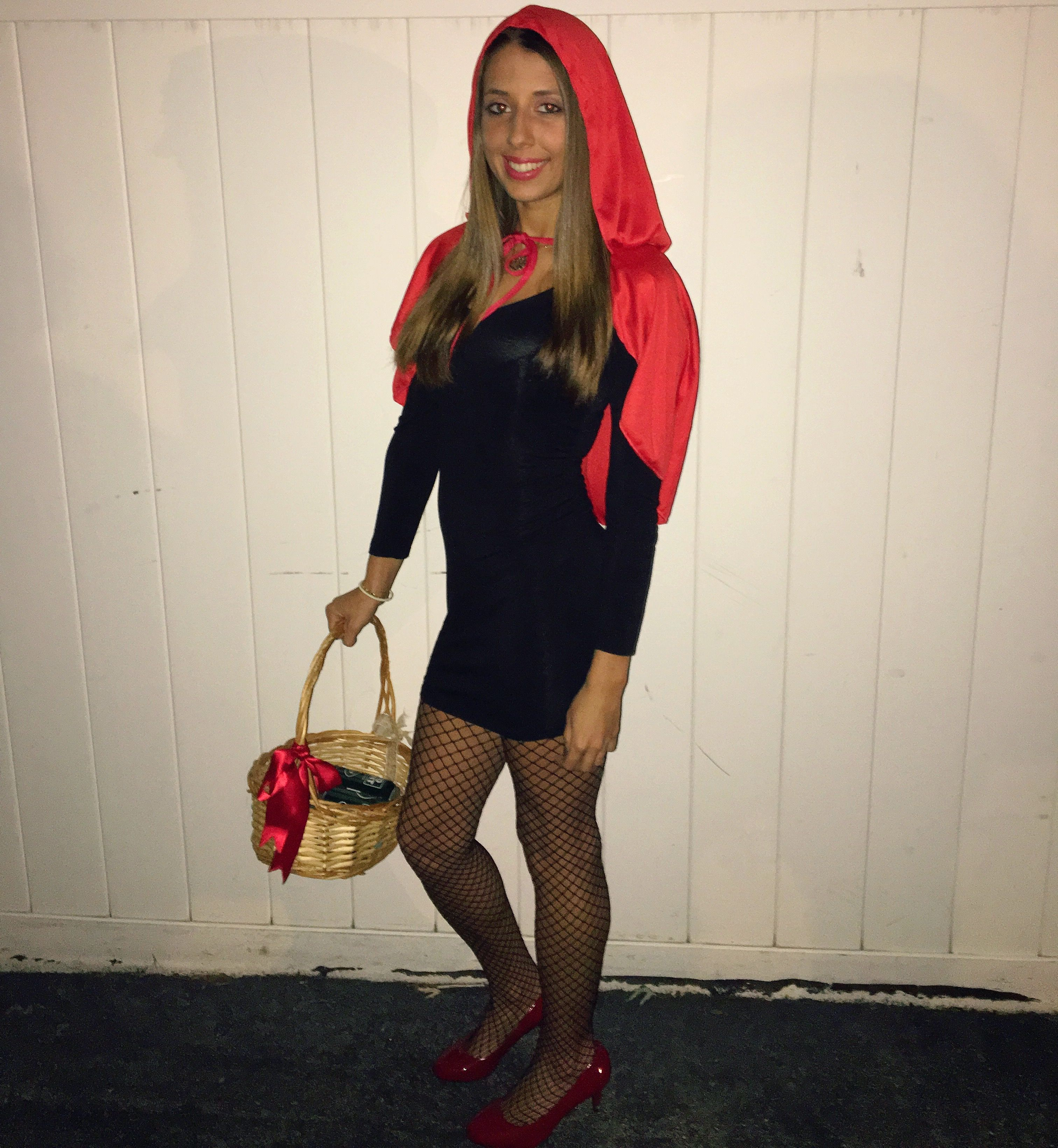 Little Red Riding Hood Costume Diy Teenager College Girl Woman