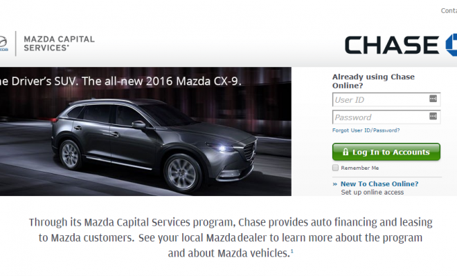 Mazda Capital Services Bill Payment Options Car Finance Mazda Chase Online