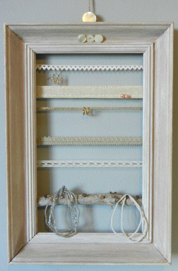 présentoir à bijoux barettes élastiques sur cadre par frenchblabla