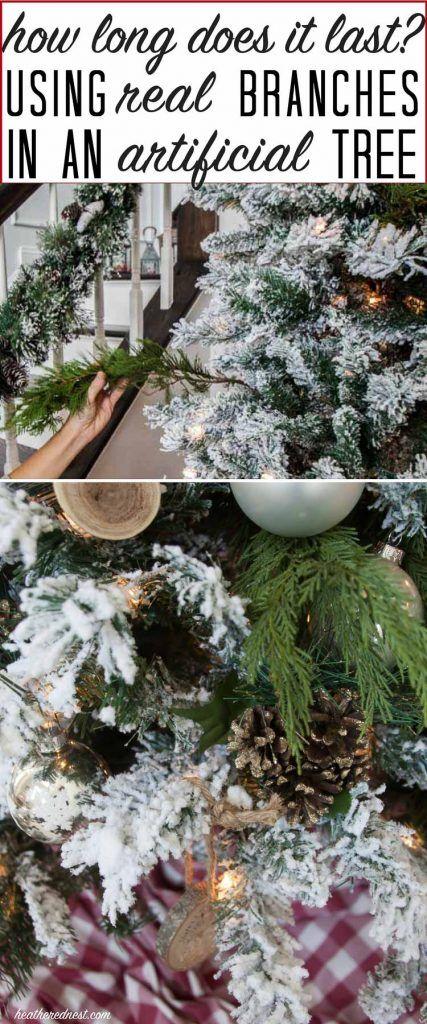 DIY Christmas Tree hack...did it last | Diy christmas tree, DIY ...