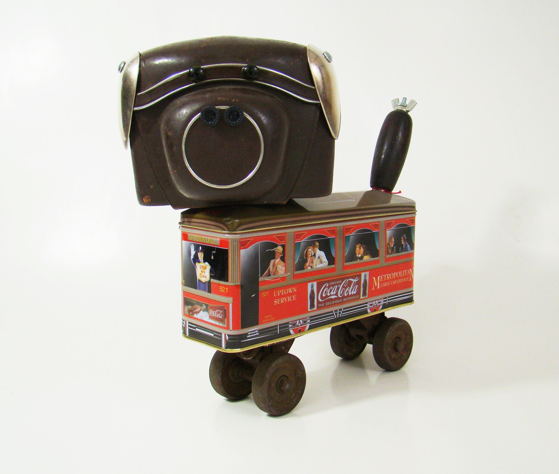 Charlie the Robo Pup!   By Bill McKenney Bills Retro Robots on Etsy