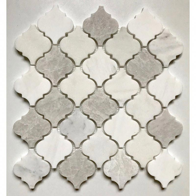 Arabesque 12 X 12 Marble Mosaic Wall Floor Tile Marble Mosaic Marble Mosaic Tiles Arabesque Tile