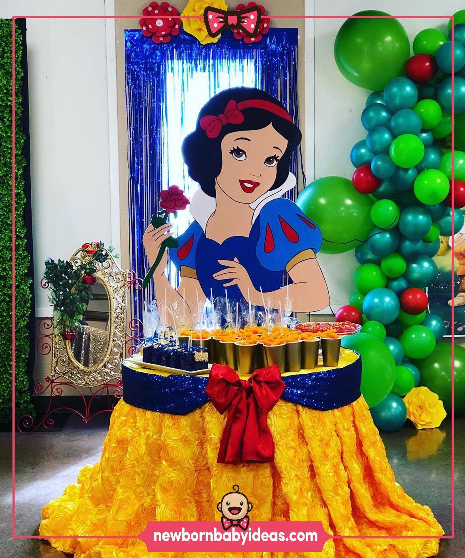 Lavish Princess Birthday Decorations Best Online Resources Birthdayparty Snow White Birthday Party Snow White Birthday Cinderella Birthday Party Decorations