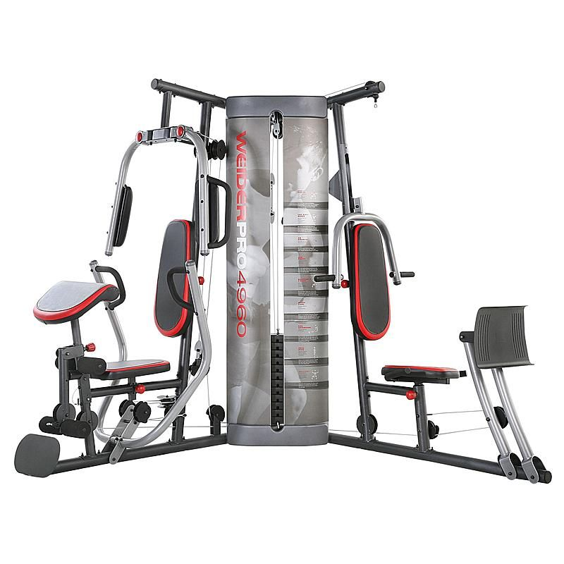 Weider pro weight system fitness home gym reviews home