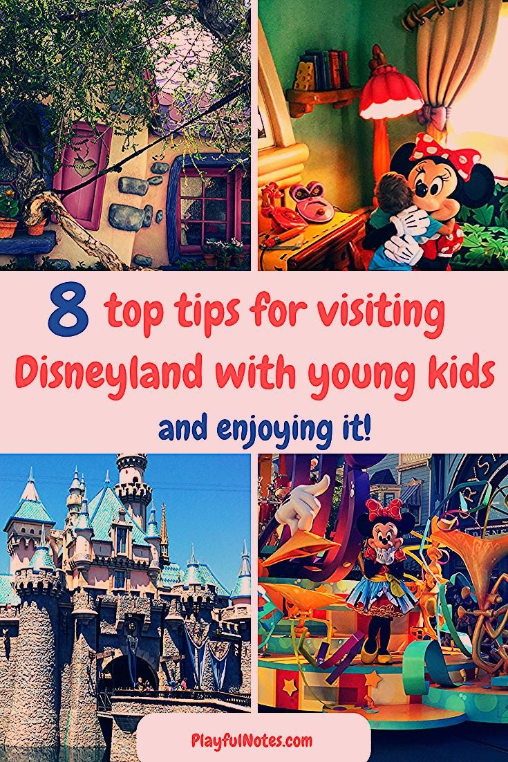 Photo of 8 top tips for visiting Disneyland with young kids {and enjoying it!}
