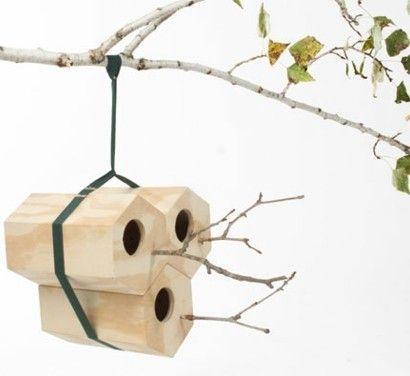 Attraktiv Modulares Vogel Nest Aus Holz U2013 NeighBirds Häuser Von Andreu Carulla   DIY DEKO  IDEEN