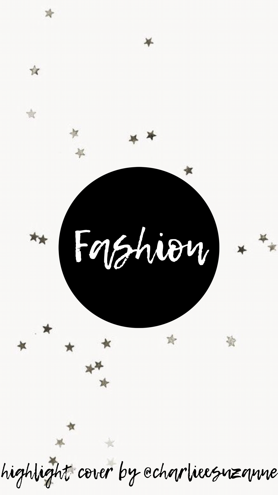 Black White Star Theme Instagram Highlight Covers By Charlieesuzanne Instagram Icons Creative Instagram Stories Instagram Editing
