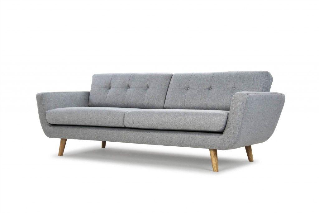 Retro En Toch Een Beetje Modern Sofa Compagnie Retro Bank Grijze Bank Woonkamer Meubel Ideeen