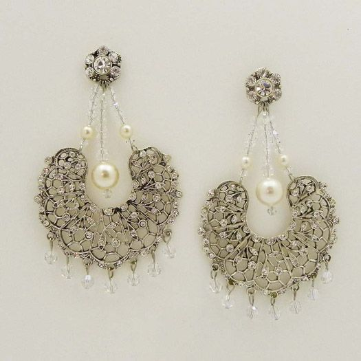 Vintage chandelier earrings stuff to buy pinterest chandelier vintage chandelier earrings mozeypictures Images