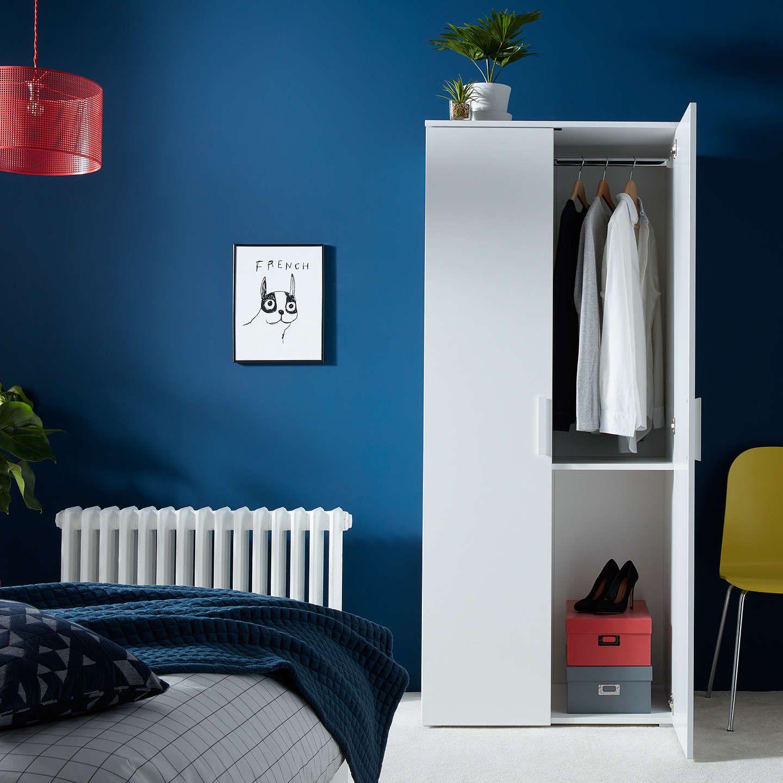 House by john lewis felix door wardrobe fsccertified white in