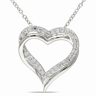 Highest Quality Lowest Prices!    https://dailygrabs.ca/deals/white-sapphire-heart-pendant