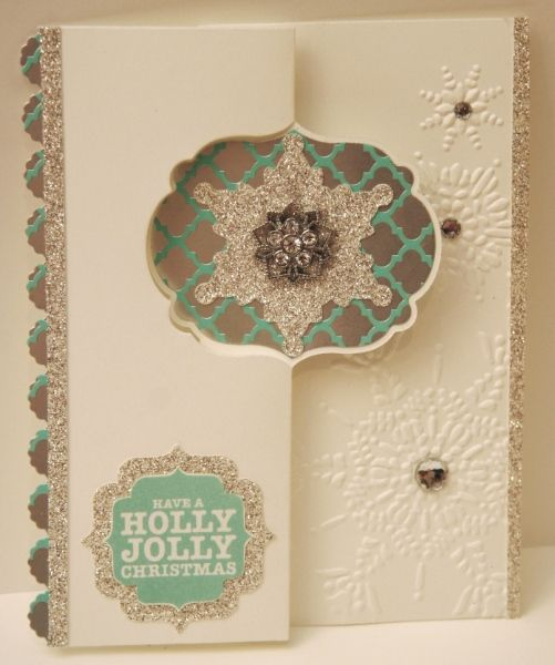 Laber swing card - Winter Frost by dvisky - Cards and Paper Crafts at Splitcoaststampers