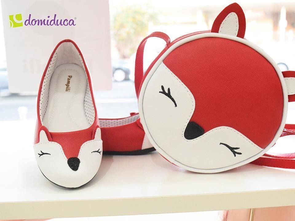 baa4b75191 Para lacrar mesmo aquele look perfeito com sapatilha e bolsinha da raposa  coleção Zoo!