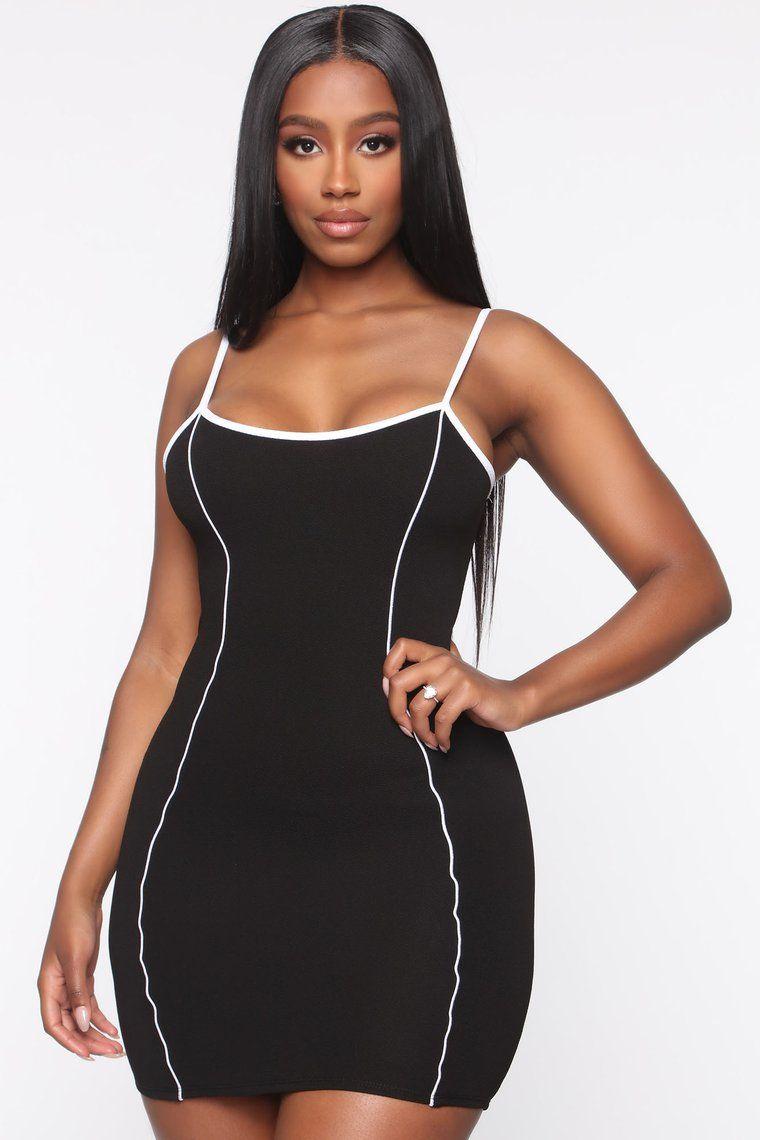 Competitive Edge Bodycon Mini Dress Black in 2020 Mini