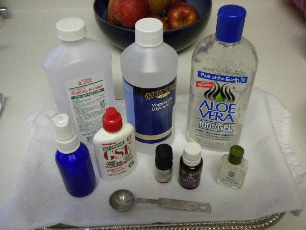 Homemade Hand Sanitizer Spray Kid Friendly Recipe Natural