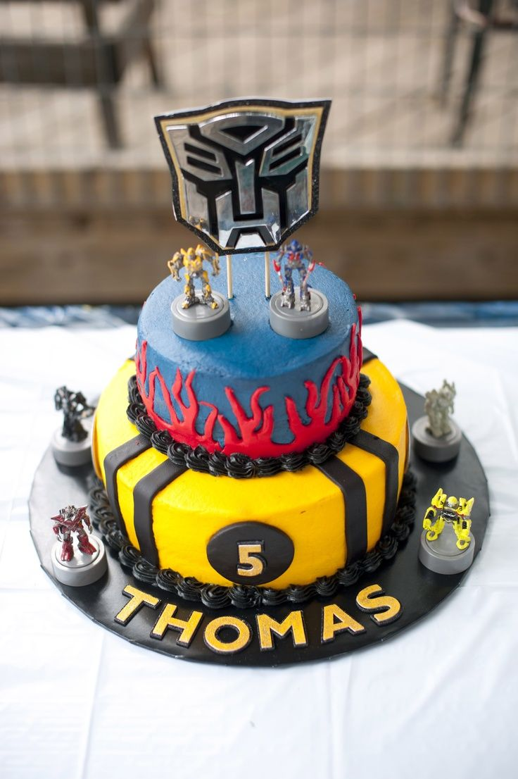 Birthday Cake Party Images : Transformers Birthday Cakes on Pinterest Rescue Bots ...