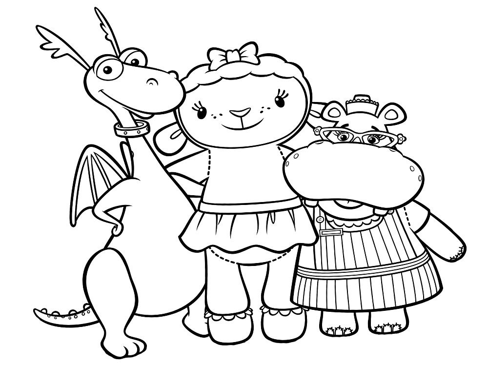 Imagenes Para Colorear Para Niña: Algo útil Para Niñas Y Niños