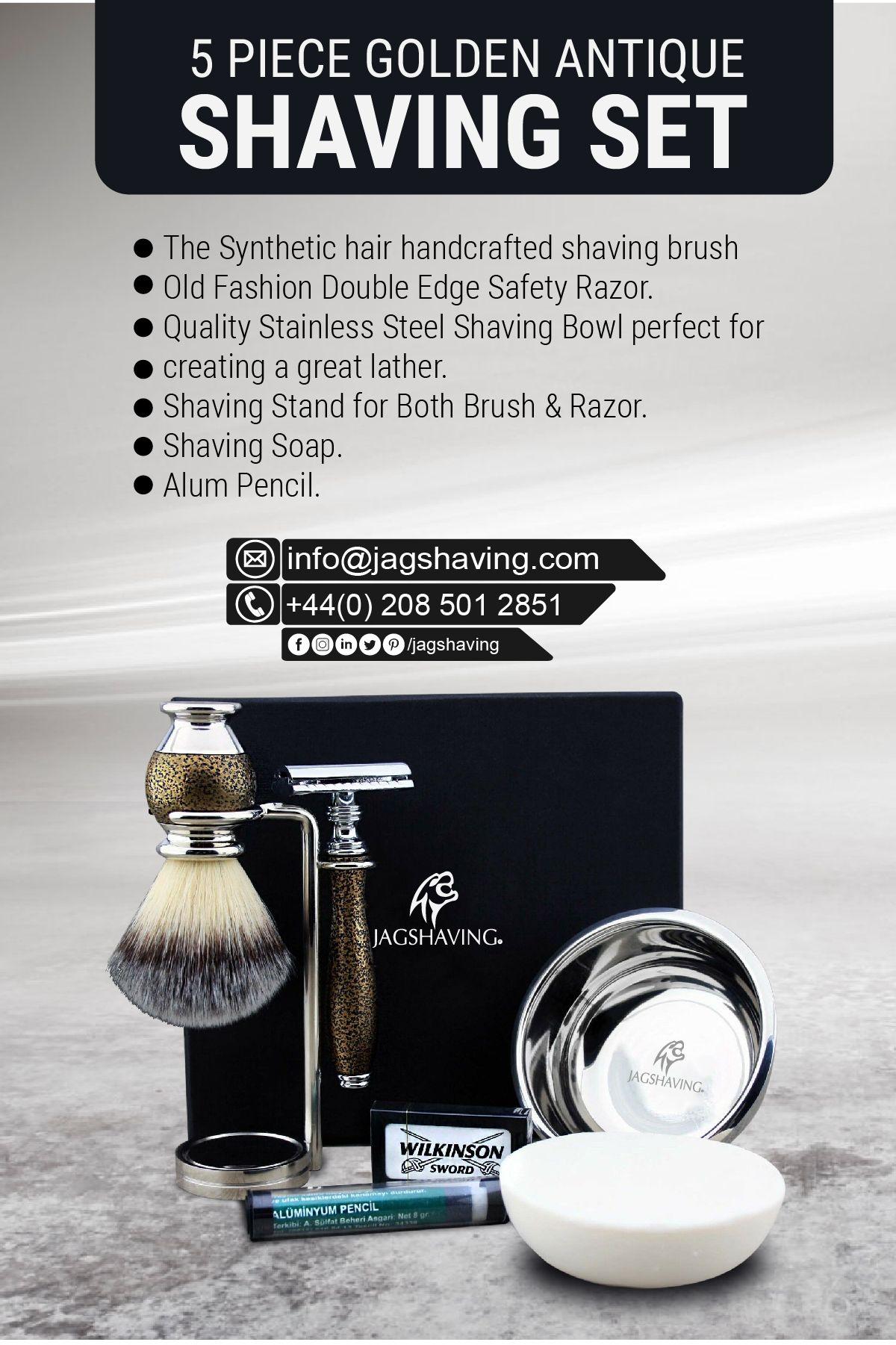 Shaving shaving_set barber men beard razor gillette