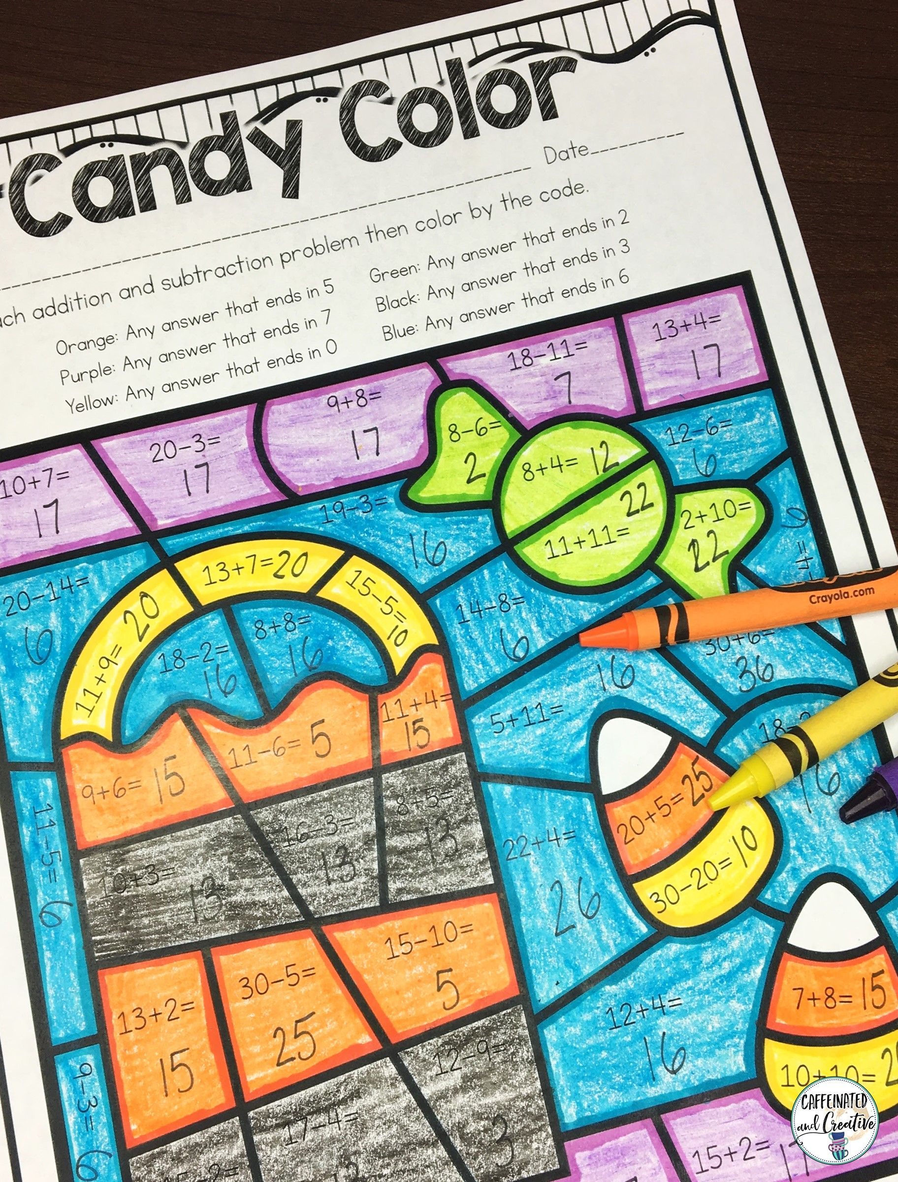 Halloween Literacy And Math No Prep Mini Unit For Second