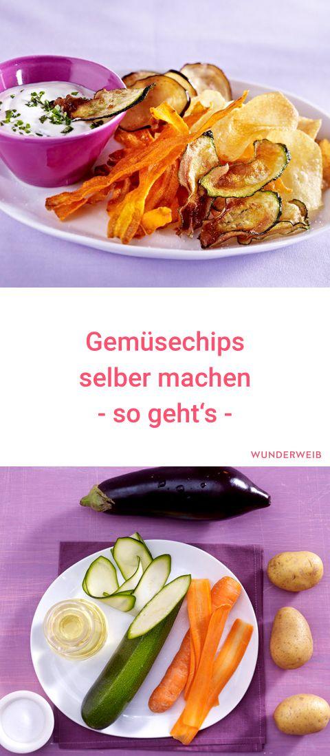 Gemüsechips selber machen: Gesunder Knabberspaß #healthysnacks
