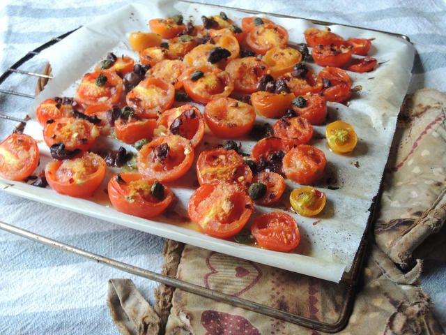 Quick and easy vegan tomatoes gratin gourmet street food and naturally epicurean venice gourmet food blog home recipes easy forumfinder Images
