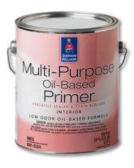 Multi Purpose Oil Based Primer By Sherwin Williams Water