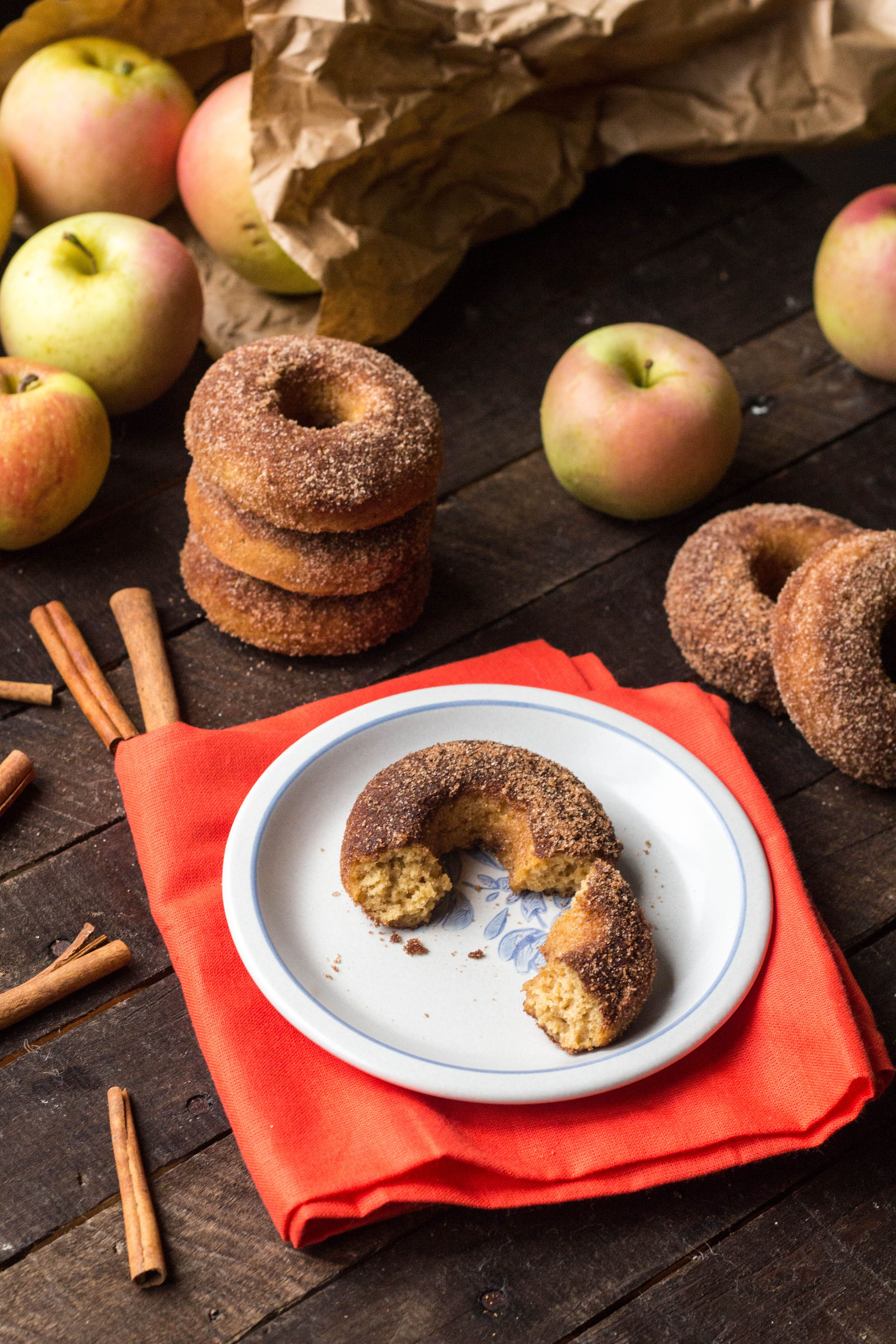 Baked Apple Cider Doughnuts Coley Cooks Recipe Baked