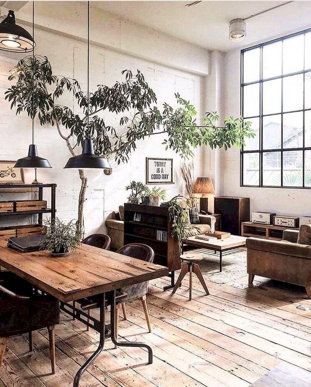 75 Cozy Modern Farmhouse Living Room Decor Ideas images
