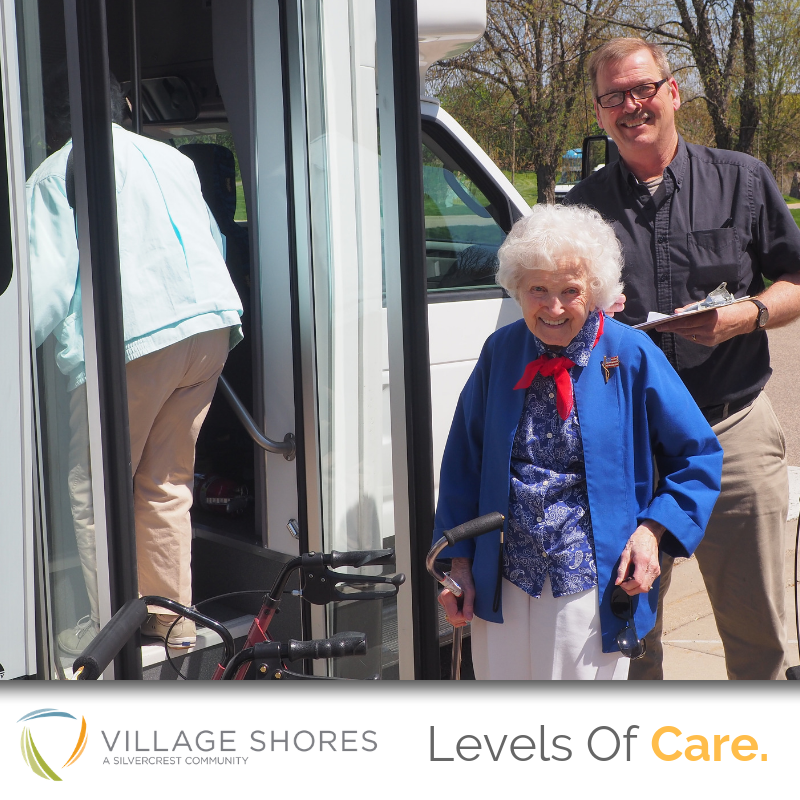At Village Shores Senior Community, We Offer Step-up